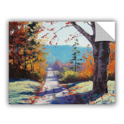 Brushstone Autumn Delight Removable Wall Decal