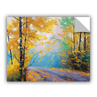 Brushstone Misty Autumn Day Removable Wall Decal