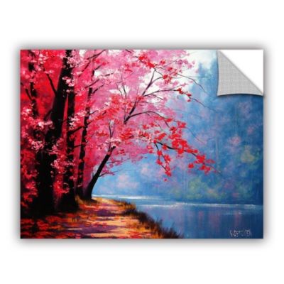 Brushstone River Bend Removable Wall Decal