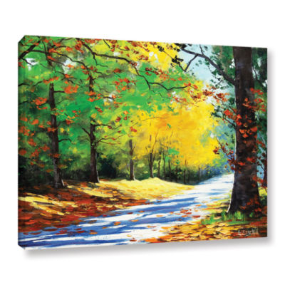 Brushstone Vibrant Autumn Gallery Wrapped Canvas Wall Art