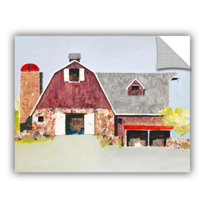 Brushstone Barn No. 2 Removable Wall Decal
