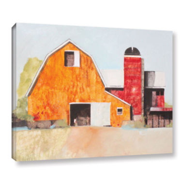 Brushstone Barn No. 3 Gallery Wrapped Canvas WallArt