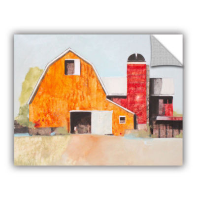 Brushstone Barn No. 3 Removable Wall Decal