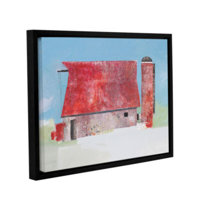 Brushstone Barn No. 36 Gallery Wrapped Floater-Framed Canvas Wall Art