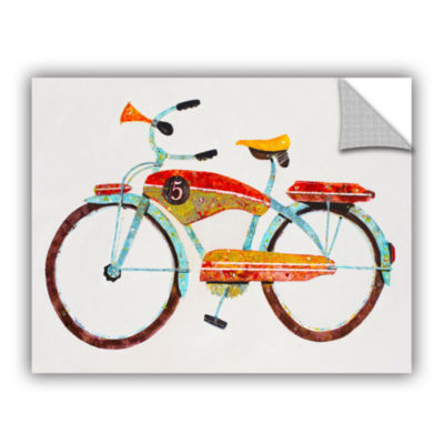 Brushstone Bike No. 5 Removable Wall Decal