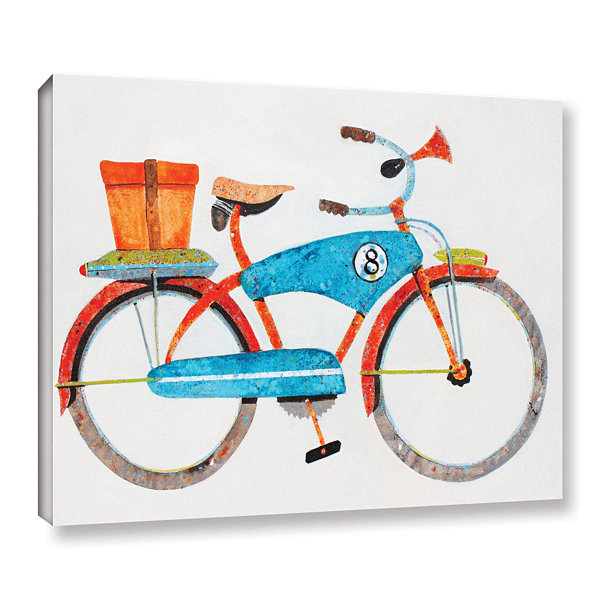 Brushstone Bike No. 8 Gallery Wrapped Canvas WallArt