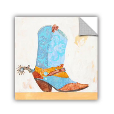 Brushstone Boy Boot Removable Wall Decal