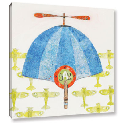 Brushstone Cap No. 52 Gallery Wrapped Canvas WallArt
