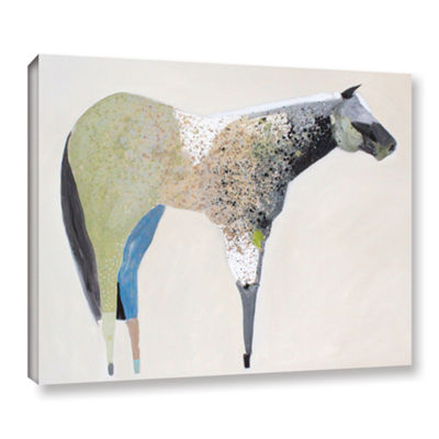 Brushstone Horse No. 33 Gallery Wrapped Canvas Wall Art
