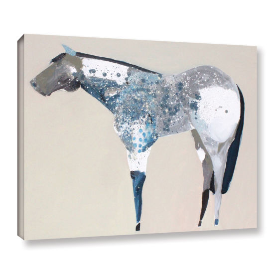 Brushstone Horse No. 34 Gallery Wrapped Canvas Wall Art