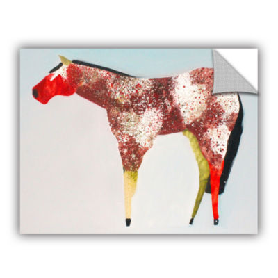 Brushstone Horse No. 39 Removable Wall Decal
