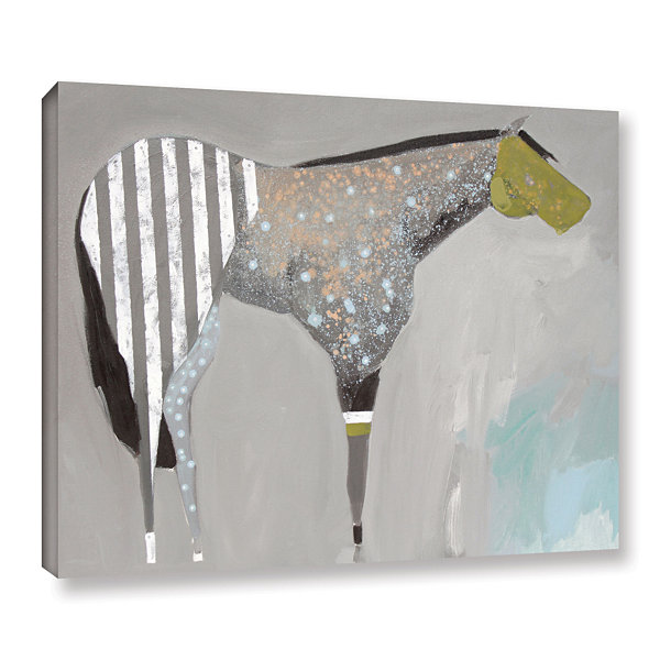 Brushstone Horse No. 63 Gallery Wrapped Canvas Wall Art