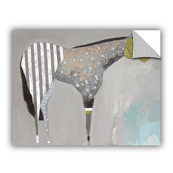 Brushstone Horse No. 63 Removable Wall Decal