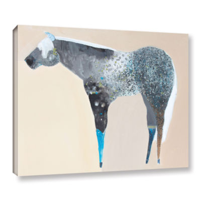 Brushstone Horse No. 66 Gallery Wrapped Canvas Wall Art