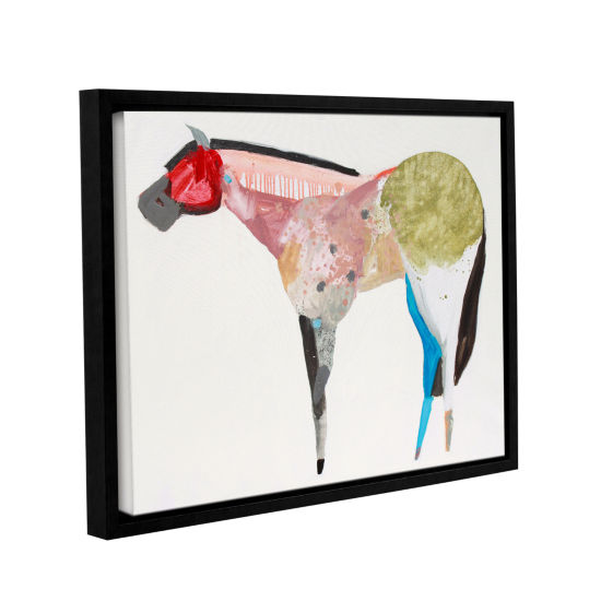 Brushstone Horse No. 67 Gallery Wrapped Floater-Framed Canvas Wall Art