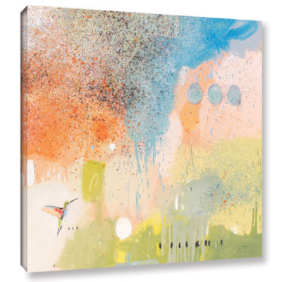 Brushstone Hummingbird At Home 1 Gallery Wrapped Canvas Wall Art