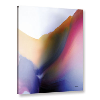 Brushstone Being 02A Gallery Wrapped Canvas Wall Art