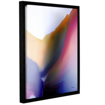 Brushstone Being 02A Gallery Wrapped Floater-Framed Canvas Wall Art