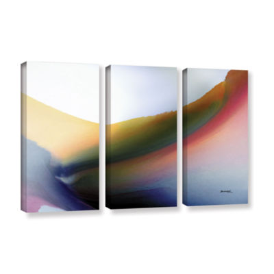 Brushstone Being 02B 3-pc. Gallery Wrapped CanvasWall Art