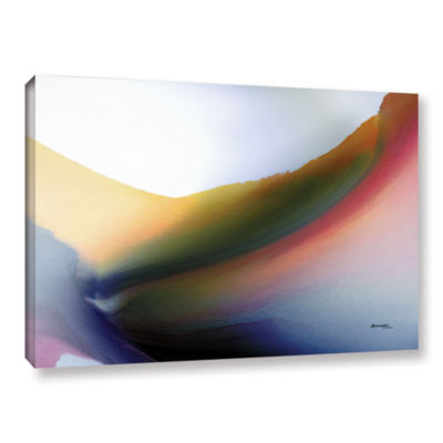 Brushstone Being 02B Gallery Wrapped Canvas Wall Art