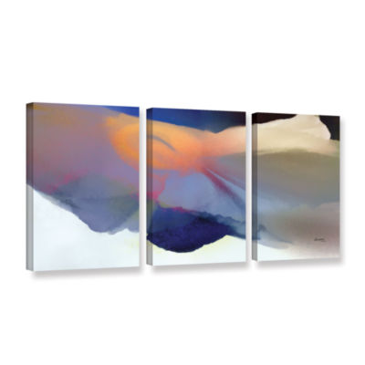 Brushstone Embrace 2 3-pc. Gallery Wrapped CanvasWall Art