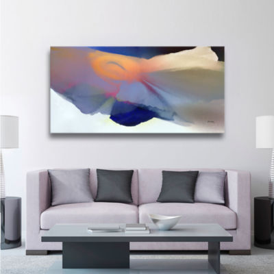 Brushstone Embrace 2 Gallery Wrapped Canvas Wall Art
