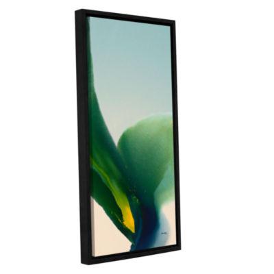 Brushstone Flora 9 Gallery Wrapped Floater-FramedCanvas Wall Art