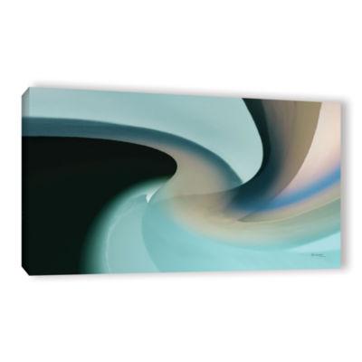 Brushstone Movement 2 Gallery Wrapped Canvas WallArt