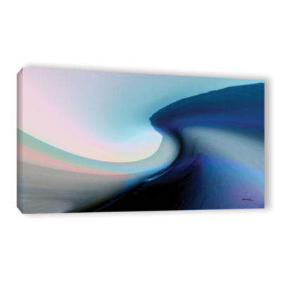 Brushstone Ocean Vibes 2 Gallery Wrapped Canvas Wall Art