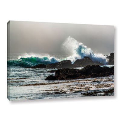 Brushstone The Wave Long Beach Gallery Wrapped Canvas Wall Art
