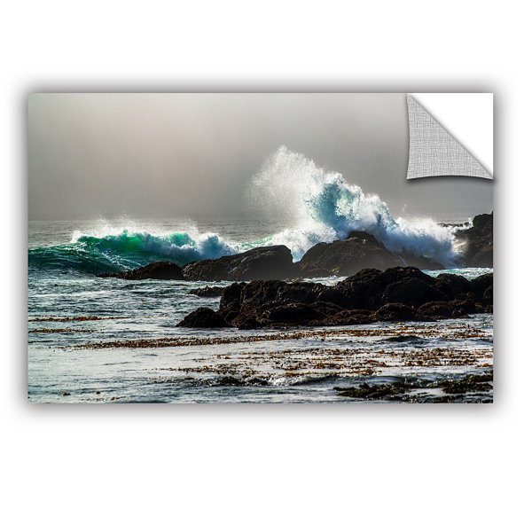 Brushstone The Wave Long Beach Removable Wall Decal