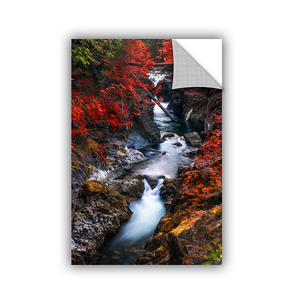 Brushstone Water In The Fall Removable Wall Decal