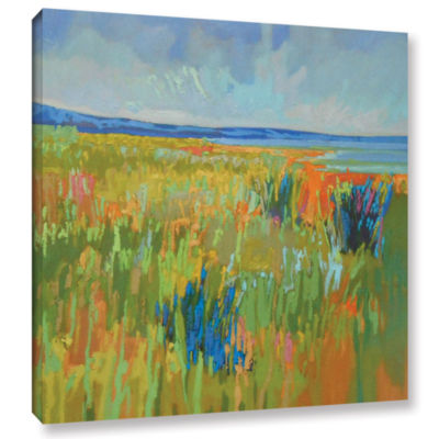 Brushstone Lake Shore II Gallery Wrapped Canvas Wall Art