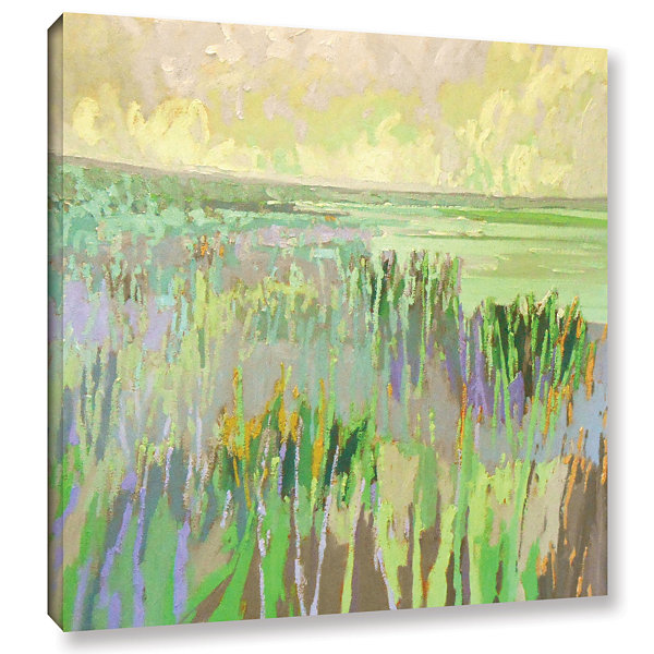 Brushstone Lake Shore III Gallery Wrapped Canvas Wall Art