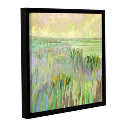 Brushstone Lake Shore III Gallery Wrapped Floater-Framed Canvas Wall Art