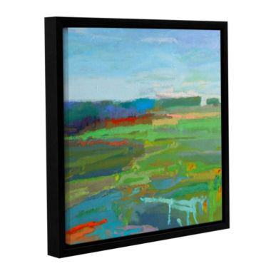Brushstone Vinalhaven#5 Gallery Wrapped Floater-Framed Canvas Wall Art