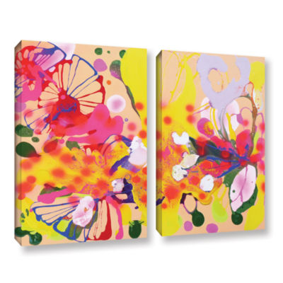 Brushstone Lola Fiesta 2-pc. Gallery Wrapped Canvas Wall Art