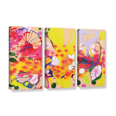 Brushstone Lola Fiesta 3-pc. Gallery Wrapped Canvas Wall Art