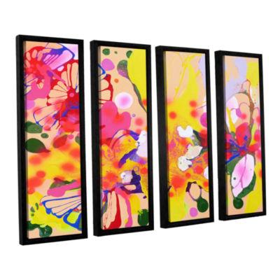 Brushstone Lola Fiesta 4-pc. Floater Framed CanvasWall Art
