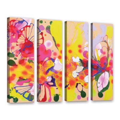 Brushstone Lola Fiesta 4-pc. Gallery Wrapped Canvas Wall Art