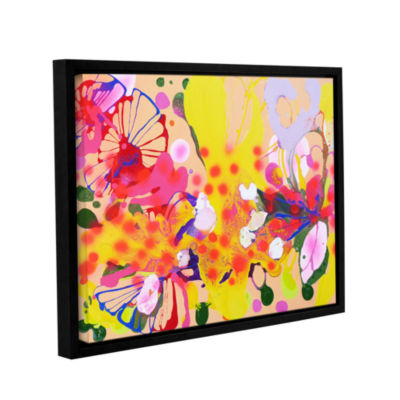 Brushstone Lola Fiesta Gallery Wrapped Floater-Framed Canvas Wall Art
