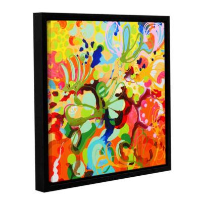 Brushstone Skylark Gallery Wrapped Floater-FramedCanvas Wall Art