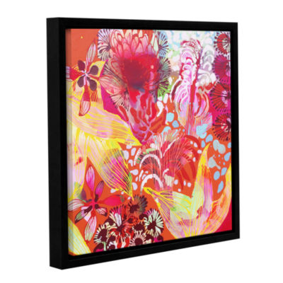 Brushstone You Can't Catch ME Gallery Wrapped Floater-Framed Canvas Wall Art