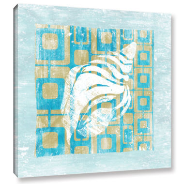 Brushstone Shell Game II Gallery Wrapped Canvas Wall Art