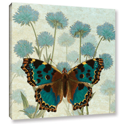 Brushstone Le Papillon Pattern 1 Gallery Wrapped Canvas Wall Art