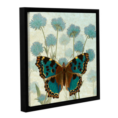 Brushstone Le Papillon Pattern 1 Gallery Wrapped Floater-Framed Canvas Wall Art