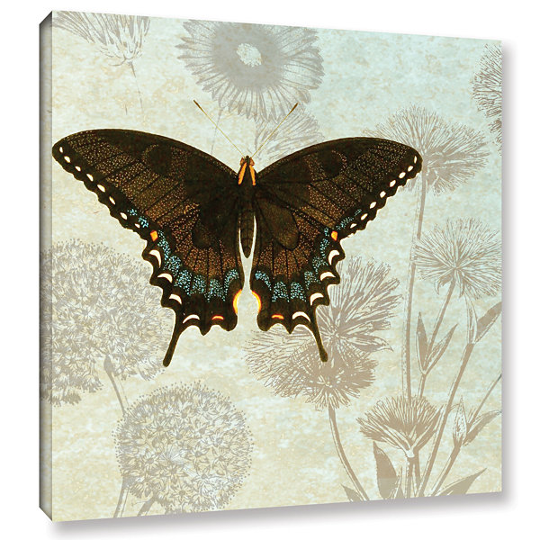 Brushstone Le Papillon Pattern 2 Gallery Wrapped Canvas Wall Art