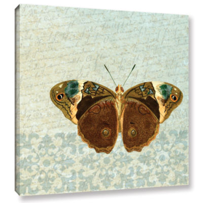 Brushstone Le Papillon Pattern 3 Gallery Wrapped Canvas Wall Art