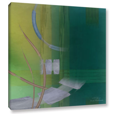 Brushstone Abstract 03 I Gallery Wrapped Canvas Wall Art