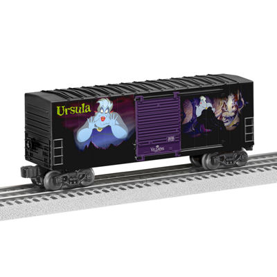 Lionel Trains Ursula Disney Villains Hi-Cube Boxcar